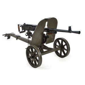 ** Wise-Lite Arms Polish Semi-Automatic SG-43 Machine Gun with Carriage