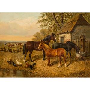 John F. Herring Sr. (British, 1795-1865)