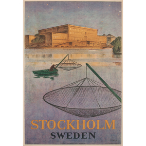 Swedish Travel Posters, Lot of Three