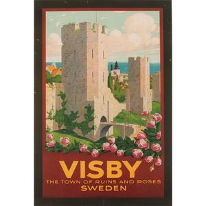 Swedish Travel Posters, Lot of Three