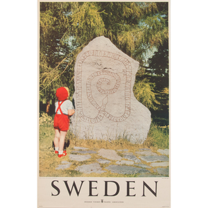 Swedish Tourist Traffic Association Photographic Posters, Lot of Three