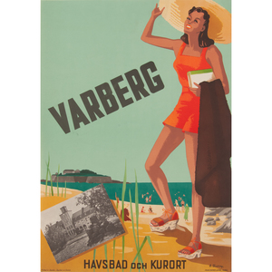 Anders Beckman (Swedish, 1907-1967) Sverige, Plus