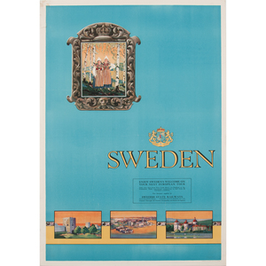 Swedish Travel Posters, Lot of Two