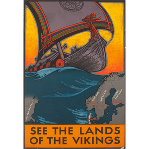 Benjamin Blessum (American, 1877-1954) See The Lands Of The Vikings