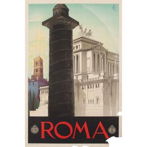 Virgilio Retrosi (Italian, 1892-1975) Roma