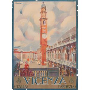 Tullio Silvestri (Italian, 1880-1963) Vicenza