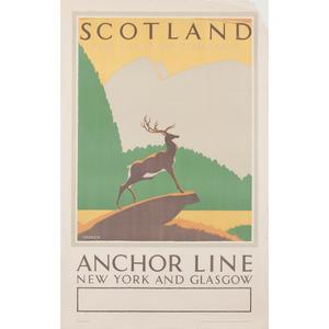 Frederick C. Herrick (British, 1887-1970) Scotland The Land of Romance