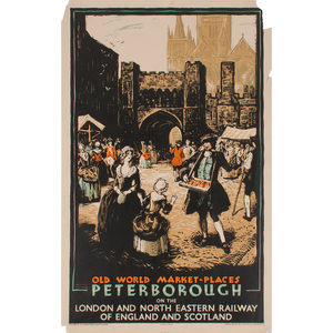 Austin Cooper (Canadian-British, 1890-1964) Peterborough and Norwich, Lot of Two