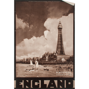 English Travel Posters for the Travel Association, Lot of Four