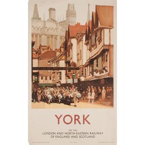 Fred Taylor (British, 1875-1963) York