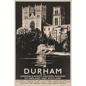 Schabelsky (Polish, 20th century) Durham  and York, Lot of Two