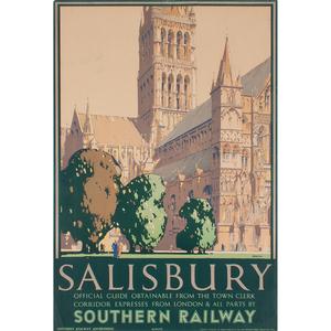 Frederick Griffin (British, 1906-1976) Salisbury