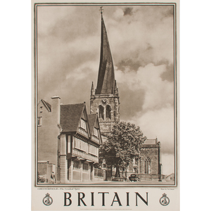 Travel Association of the United Kingdom of Great Britain and Northern Ireland Britain Series, Lot of Four
