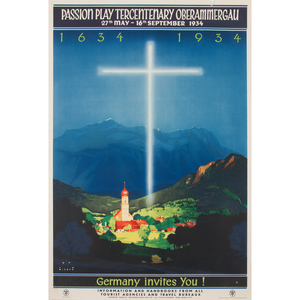 Jupp Wiertz (German, 1881-1939) Germany Invites You!