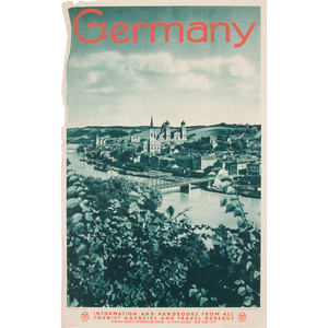German Travel Posters, Lot of Three