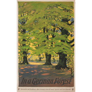 Otto Altenkirch (German, 1875-1945) In a German Forest