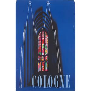 Werner Labbe (German, 1909-1989) Cologne, Plus