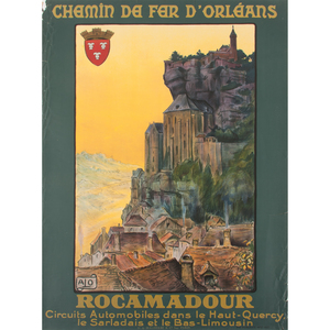 ALO (Charles Hallo, (French,1884-1969)) Rocamadour