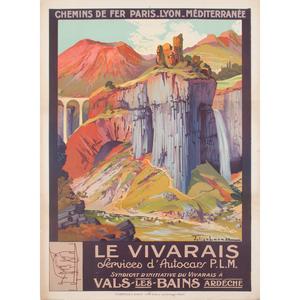 Julien Lacaze (French, 1886-1971) Le Vivarais