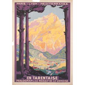 Roger Soubie (French, 1898-1984) En Tarentaise