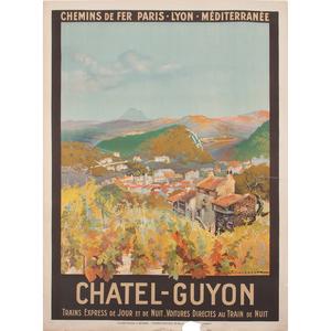 Julien Lacaze (French, 1886-1971) Chatel-Guyon