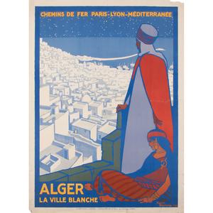 Roger Broders (French, 1883-1953) Alger La Ville Blanche