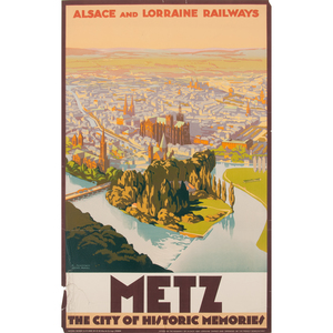 R. Sonderer (20th Century) Metz The City of Historic Memories