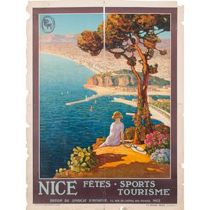 Louis Bonamici (French, 1878-1966) Nice