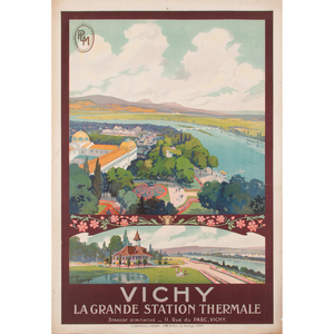Maurice Toussaint (French, 20th Century) Vichy