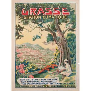 Eugène Vavasseur (French, 1863-1949) Grasse Station Climatique