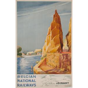 Paul Nouille (Continental, 20th Century) Belgian National Railways