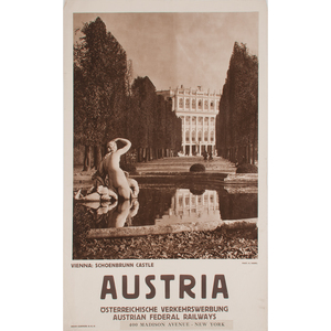 Austrian Photographic Posters, Lot of Three