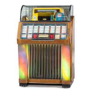 A Seeburg Select-O-Matic Jukebox