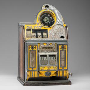 A Watling 10¢  Rol-A-Top Twin Jackpot Slot Machine