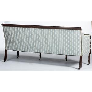 A New York Classical Carved Mahogany Sofa