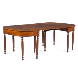 A Federal Cherrywood Dining Table