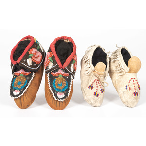Great Lakes Child's Moccasins