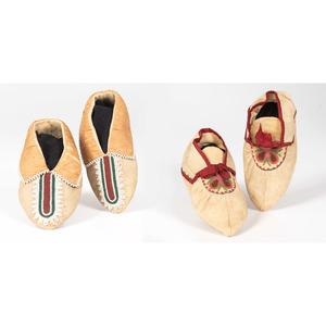 Lenape Child's Moccasins