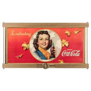 A Snyder & Black Coca Cola Advertising Sign