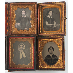 Ninth Plate Images of Ladies, Lot of 15