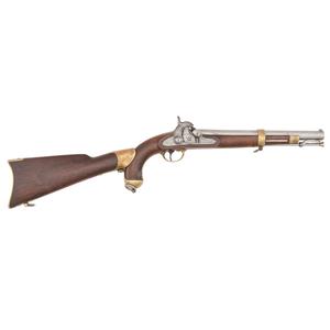 US Springfield Model 1855 Pistol Carbine With Shoulder Stock