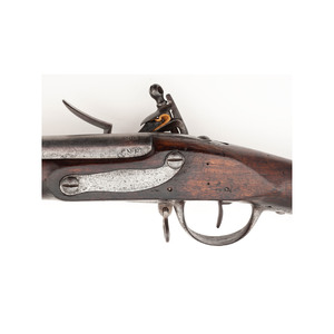 New Hampshire Marked Modified French Charleville Model 1774 Flintlock Musket with Bayonet