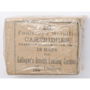 Full Pack of Cartridges for Gallager's Breech Loading Carbine