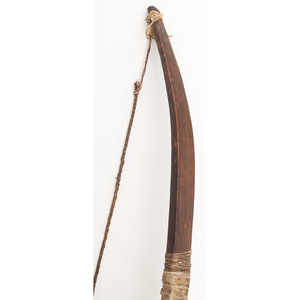 Sioux Wood Bow, Deaccessioned from the Museum of the Fur Trade, Chadron, Nebraska
