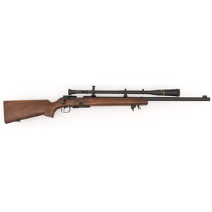 ** Winchester Model 52 Rifle with Scope