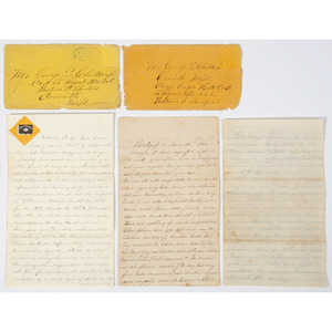 Civil War Correspondence of Corporal George Childress, 66th Illinois Infantry, with Pittsburg Landing Content