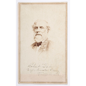 Robert E. Lee CDV by E. & H.T. Anthony
