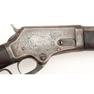 Factory Engraved Deluxe Marlin Model 1881 Rifle