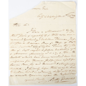 Letter Concerning Selection of President, 1801