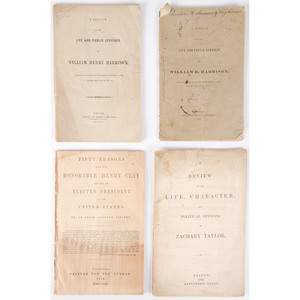 Campaign Biographies from 1840s Elections